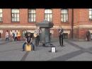 кавер Linkin Park - What Ive Done (The Railroads, уличные музыканты, Питер)