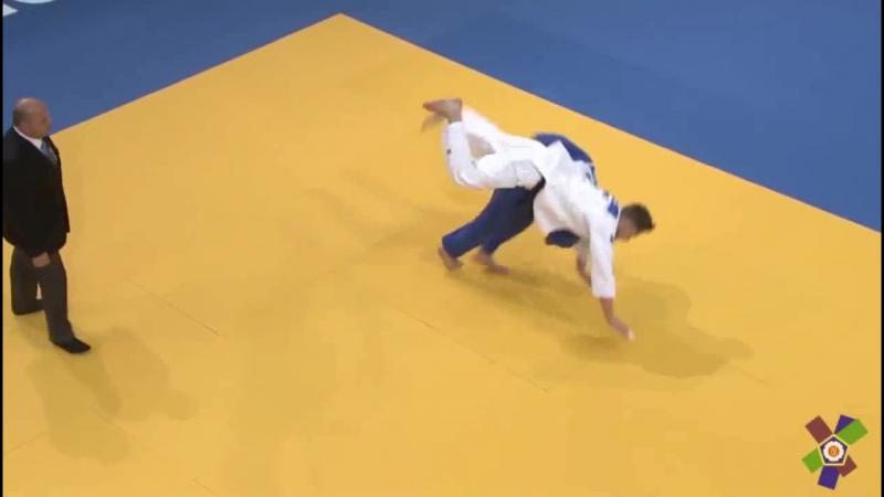 RESSEL Dominic (GER) vs KHUBETSOV Alan (RUS) 81 kg. Final. Warsaw 2017_cut