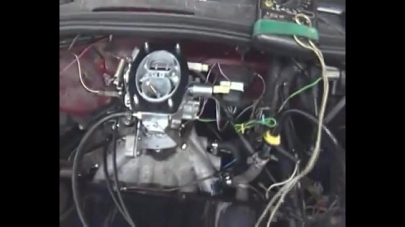 Установка карбюратора СОЛЕКС-21083 на Volkswagen Golf 2 (1.8)