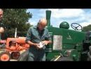 Запуск трактора с помощью патрона