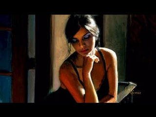 Connie Francis - Siboney (Painting by Fabian Perez)