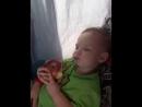 едем в аквапарк а Магомед уснул