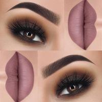 фото макияж для чёрных глаз