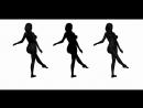 иллюзия вращения балерина