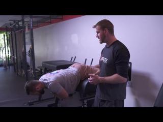 Postural endurance test /  тест на выносливость постуральных мышц.