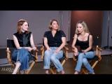 Emma Stone Plays How Well Do You Know with Rachel Goodwin  Mara Roszak - THR Beauty Issue 2016