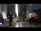 Вечеринка в Кислороде. Мужской стиль. тренировка перед чемпионатом по кизоболлу!))