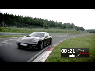 NEW PORSCHE PANAMERA TURBO NURBURGRING IN 7:38 MINUTES