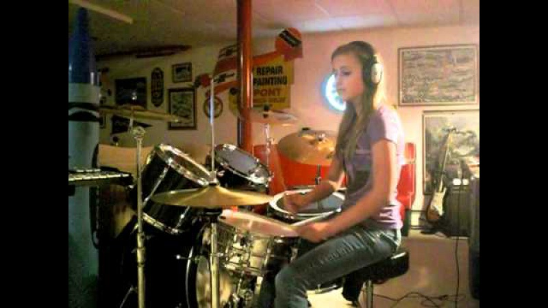 16 Year Old Girl Drummer