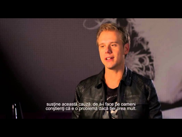 Armin van Buuren Interviu exclusivitate Romania (Heineken - Dance More, Drink Slow)