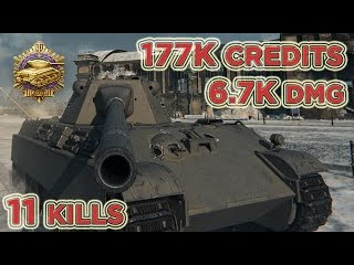 Panther mit 8,8 cm L/71 | 6.705 DMG | 2.180 EXP | 11 Kills