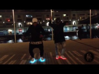 JUJU ON THAT BEAT #Dance_Challenge with Led Shoes - The Last Kings