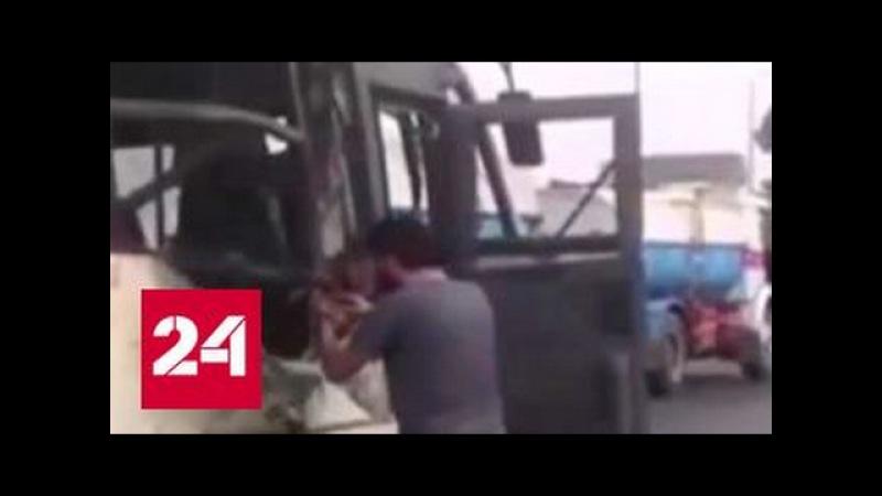В Египте боевики расстреляли автобус с христианами. Погибли больше 20 человек