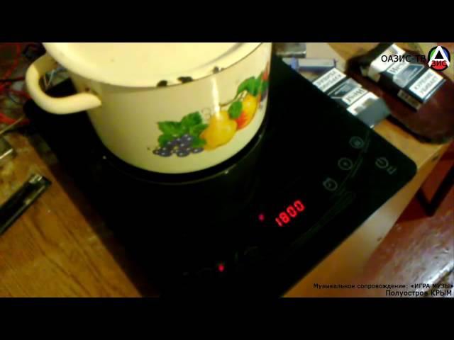 ОАЗИС Индукционная плита работает с обычной посудой. Кулинария 1 оазис тв
