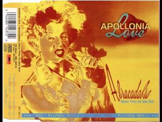 Apollonia Love - Abracadabra, Kleiner Prinz Ich Liebe Dich (Tekkno Version)