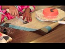 Легко и быстро Как украсить детский торт ЭНГРИ БЕРДЗ лепка из мастики мастер класс