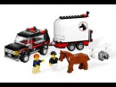 LEGO CITY 7635 4WD WITH HORSE TRAILER STOP MOTION BUILD