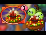 Plants vs Zombies Heroes - Exploding Fruitcake Gameplay with Imp-Throwing Imp