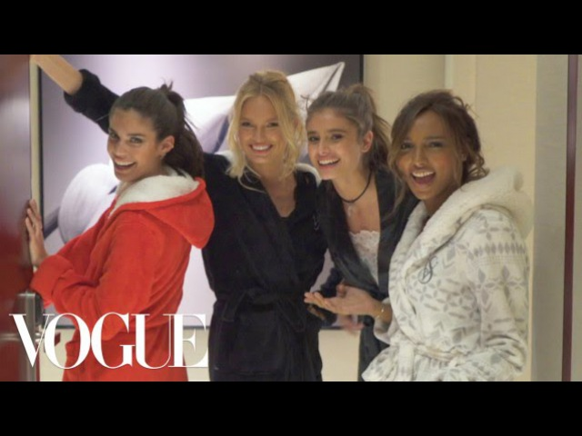 Victoria's Secret Angels Sleepover: Taylor Hill, Jasmine Tookes, and More Prep for the 2016 Show