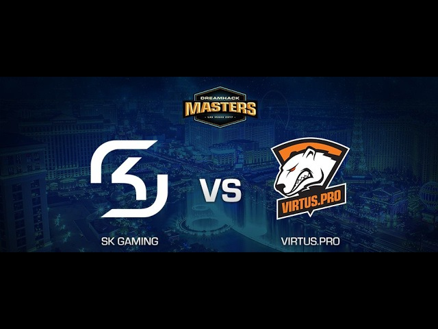 GRAND FINAL | SK Gaming - Virtus pro | DreamHack Masters Las Vegas 2017 | BO3 | de_train
