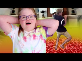 THE FLOOR IS LAVA CHALLENGE! (MattyBRaps vs Sarah Grace)