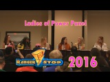 Ladies of Power Panel - RangerStop 2016 - Erin Cahill, Tracy Lynn Cruz, &amp More!