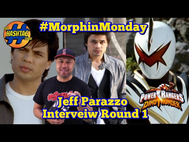 Jeff Parazzo Interview [Round 1] | Power Rangers Dino Thunder | Morphin' Monday
