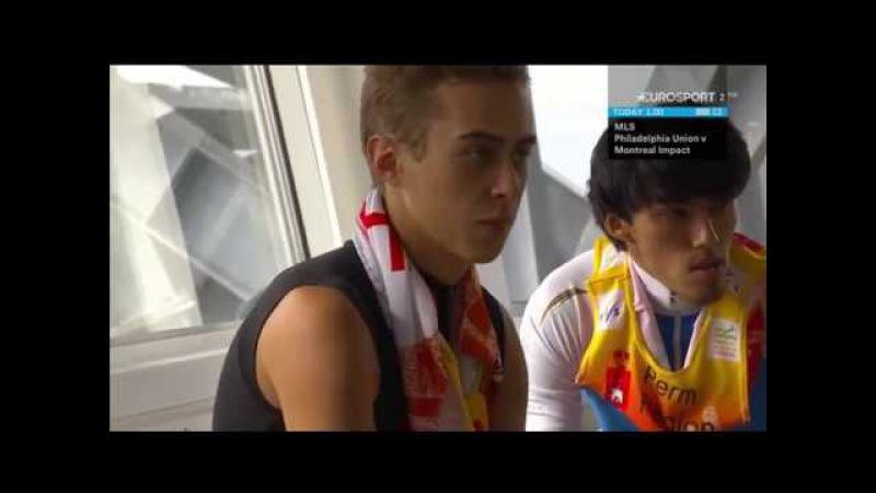 Прыжки с трамплина Лето 2016 Чайковский Мужчины Ski jumping Summer 2016 Tchaikovsky Men