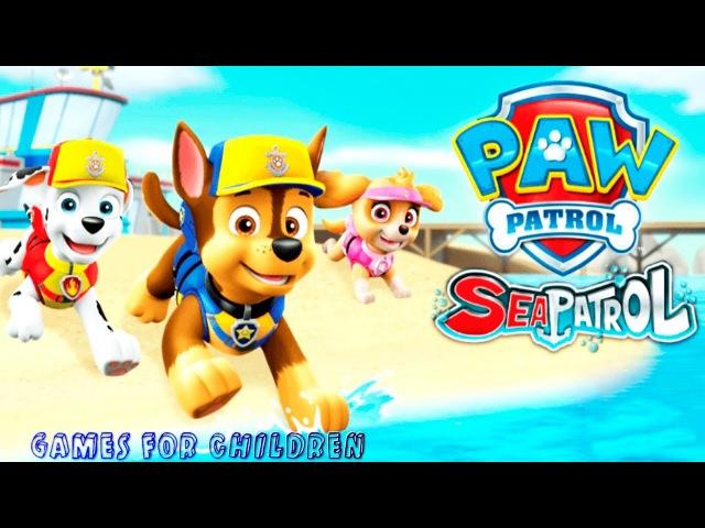 Gameplay PAW Patrol Sea Patrol Games for children