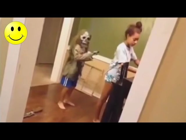 Ultimate Funny Scared Reactions 1 | People Got Scared Funny Videos - WM