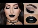 ⭐Perfect Cat Eyeliner & Black Lipstick | Melissa Samways⭐