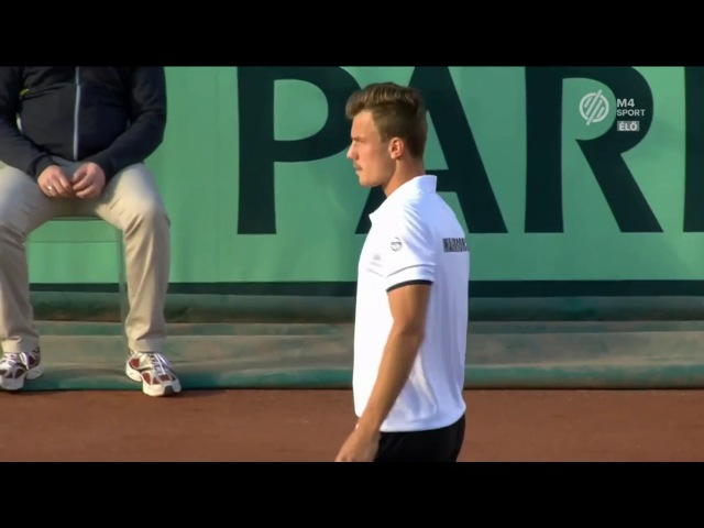 Márton FUCSOVICS (HUN) vs. Karen KHACHANOV (RUS) Davis Cup 2017