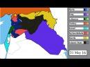 Исламское государство война в Сирии и в соседних странах карта 15 марта 2011 5 ян