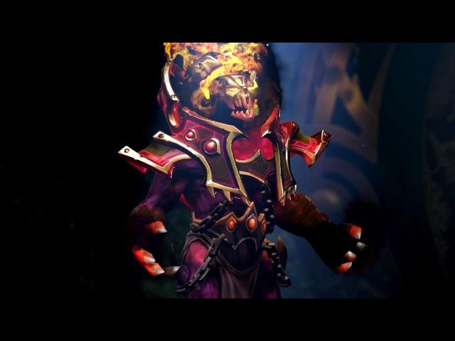 Золотая Имморталка на Шадоу Демона Golden Mantle of Grim Facade Golden Trove Carafe 2017