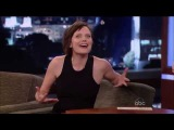 Does David Lynch believe TV is Real Elisabeth Moss on Jimmy Kimmel Live!