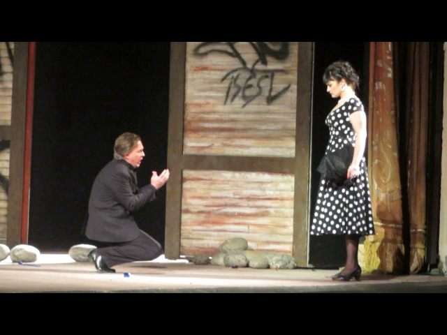 Ильгам ВалиевIlgam Valiev, Анастасия ЛепешинскаяAnastasia Lepeshinskaya - Carmen - Final scene