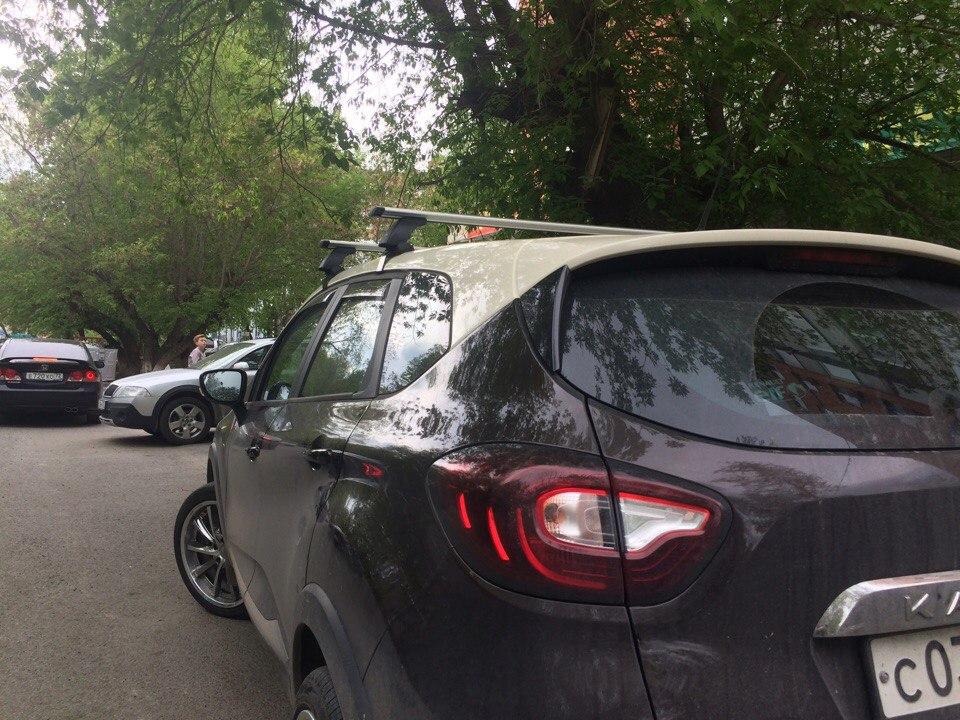 Багажник на крышу Renault Kaptur