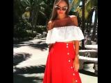 костюм 2600 креп костюмка рр. с м цвет белый и красной юбкой и белый с беж юбкой