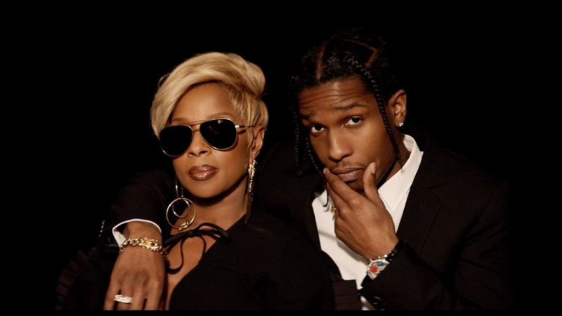 Mary J. Blige Feat. A$AP Rocky – Love Yourself (Remix) (1080p) [2017]