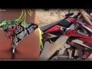 Девушка в купальнике с мотоциклом Pin Up Video Sydney Maler Не секс sex не порно porno