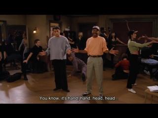 Джоуи учит танец