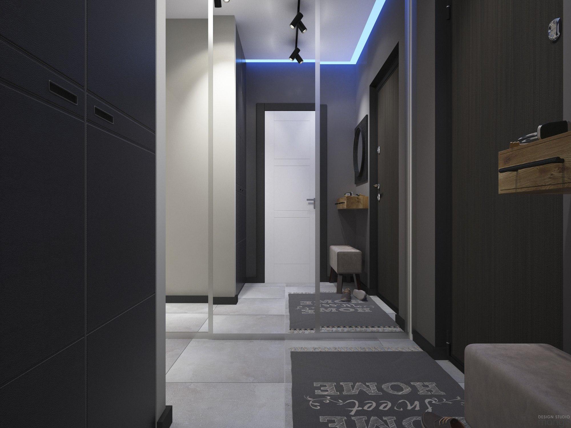 Проект квартиры почти 29 м.