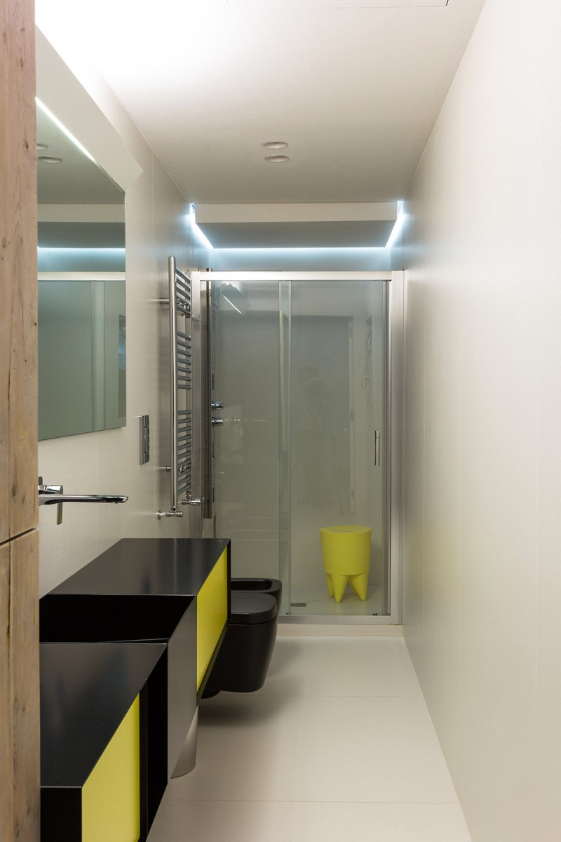 Интерьер квартиры-студии в Италии.