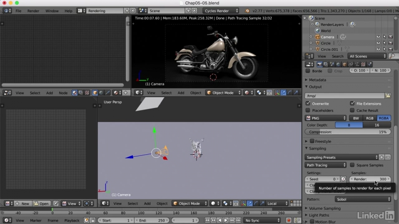 035 Creating the final render