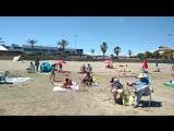 La playa en Valencia. 14.05.2017