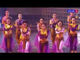 Танцуют все . Vogue. Бурятский национальный театр песни и танца Байкал - medium [mp4]