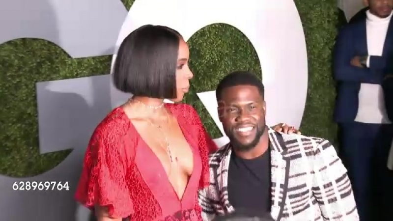 Kevin Hart and Kelly Rowland at 2016 GQ Men Of The Year Party