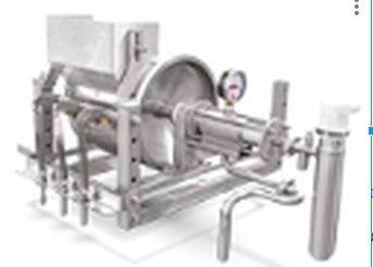 Установка сушилки и кристаллизации раствора, эмульзии