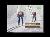 (staroetv.su) XIX Зимние Олимпийские Игры (РТР и НТВ+Спорт на 6 канале, февраль 2002) Лыжные гонки, женщины, гонка преследования