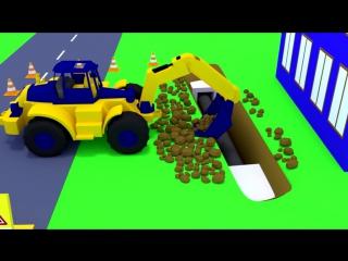 Развивающие мультфильмы. Учим дорожные знаки и правила дорожного движения, для детей.